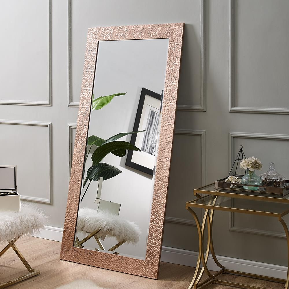 Naomi Home Mosaic Style Full Length Floor Mirror Floor Mirror