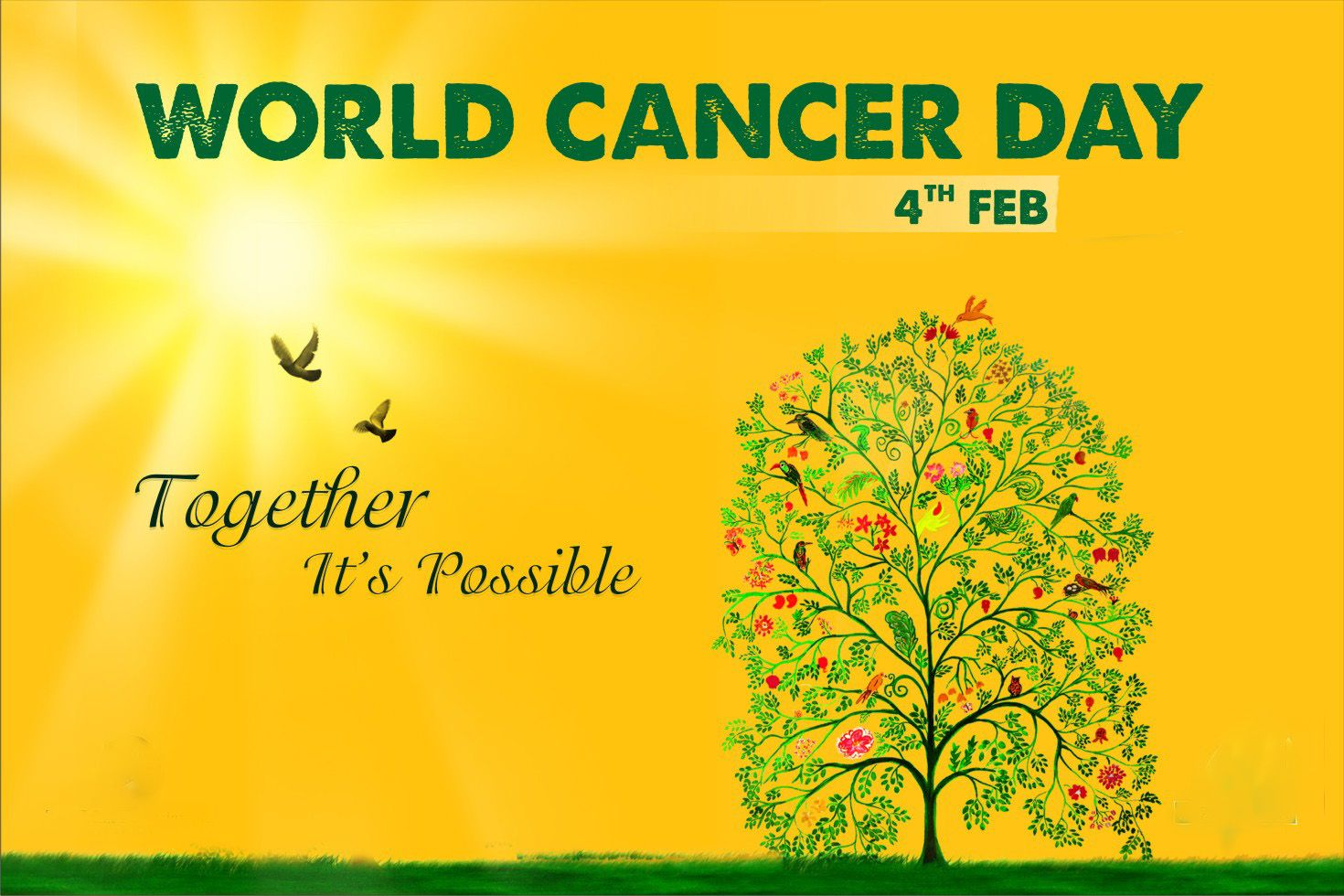 Pin by on Special Days World cancer day