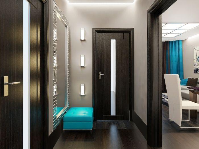 ▷ 1001 + moyens de changer du0027ambiance avec une idée déco couloir - idee couleur couloir entree