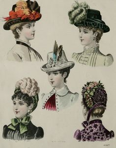 af3634c79aad2 Early Victorian Women's Hats; Part 3, wear whatever you like ...