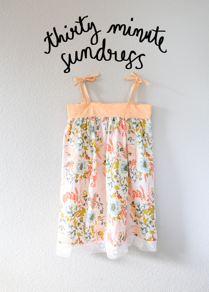 30 minute sundress with Free Pattern   Karlee   Pinterest   Costura ...