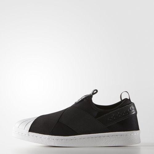 adidas Superstar Slip On Shoes Svart | adidas Sweden