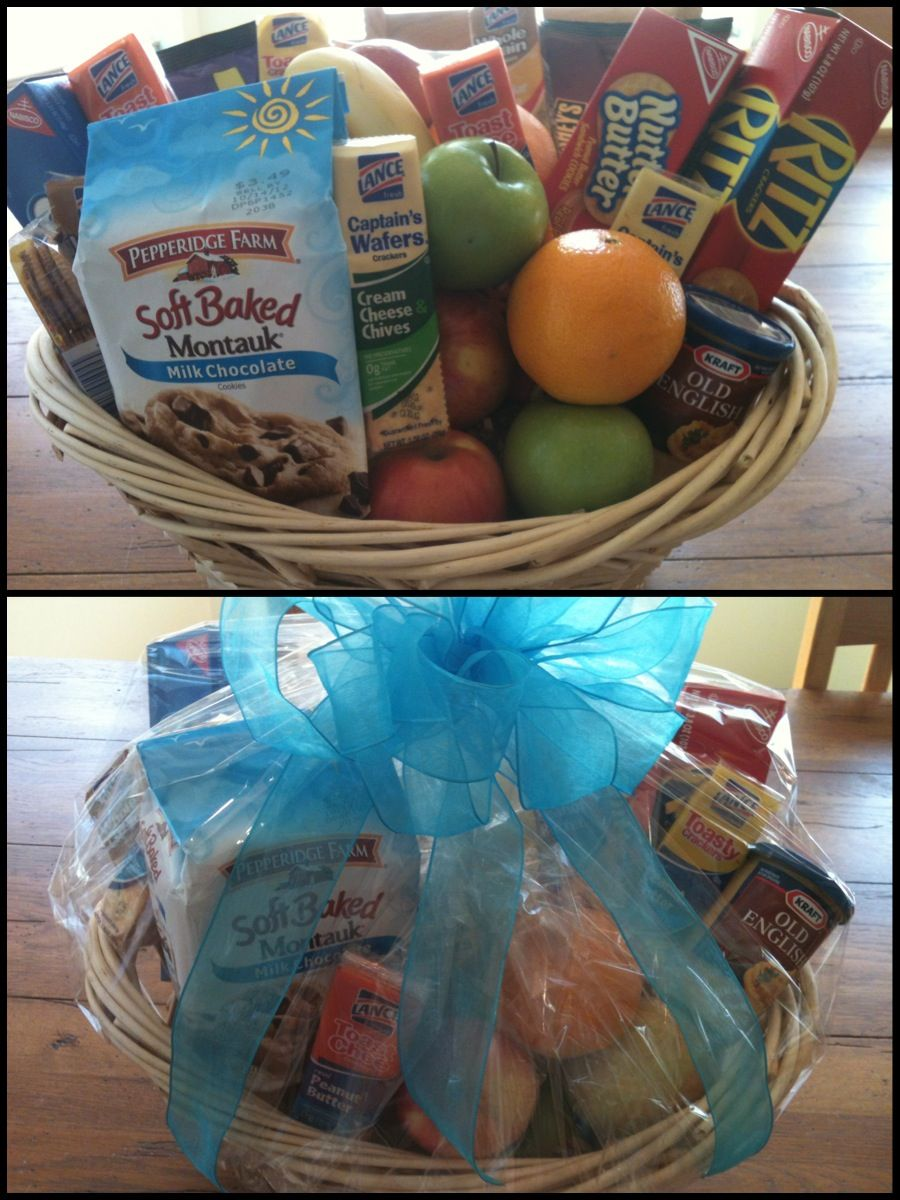 Gift Basket Would be great for shutins who can't get out