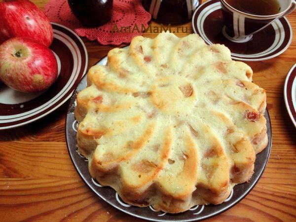 Jednoduchá  pochúťková  jablková  torta, nenáročná na čas