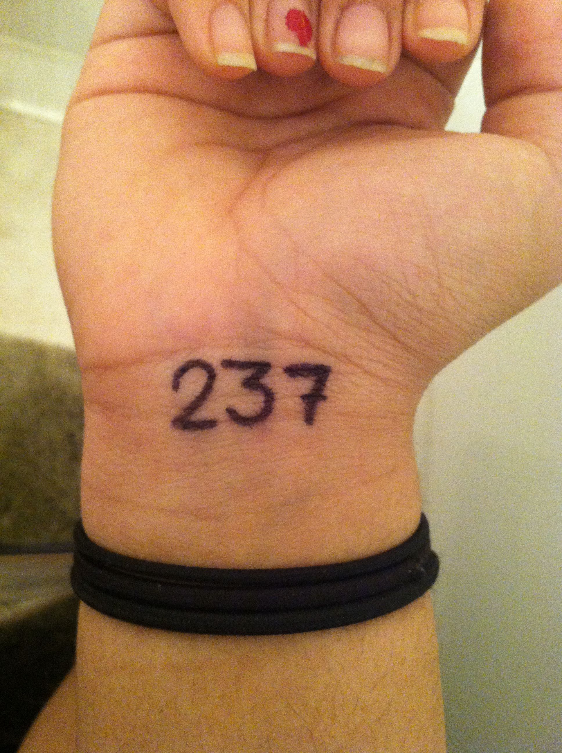 Tattoo Idea No 7 Stands For I M Not Perfect Same Concept As 143 Meaning I Love You Beautiful Tattoos Tattoos Cool Tattoos