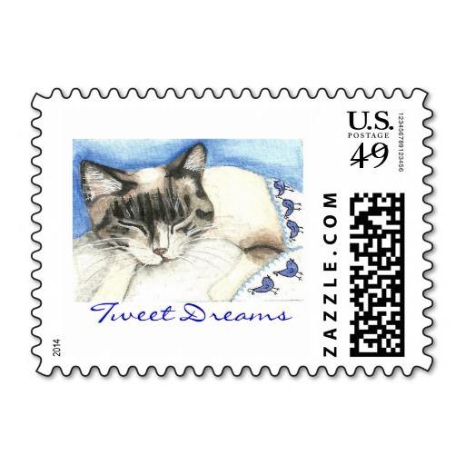 Tweet Dreams Stamp