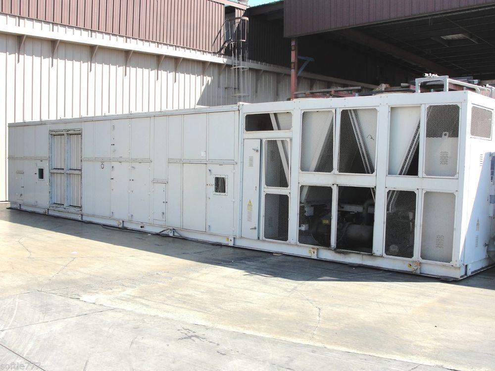 2004 Petra 115 Ton Air Conditioning Unitary Packaged Unit Model
