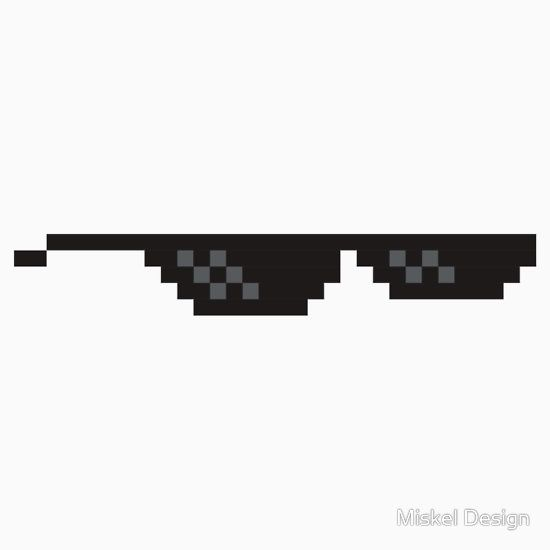 Deal With It Glasses Png