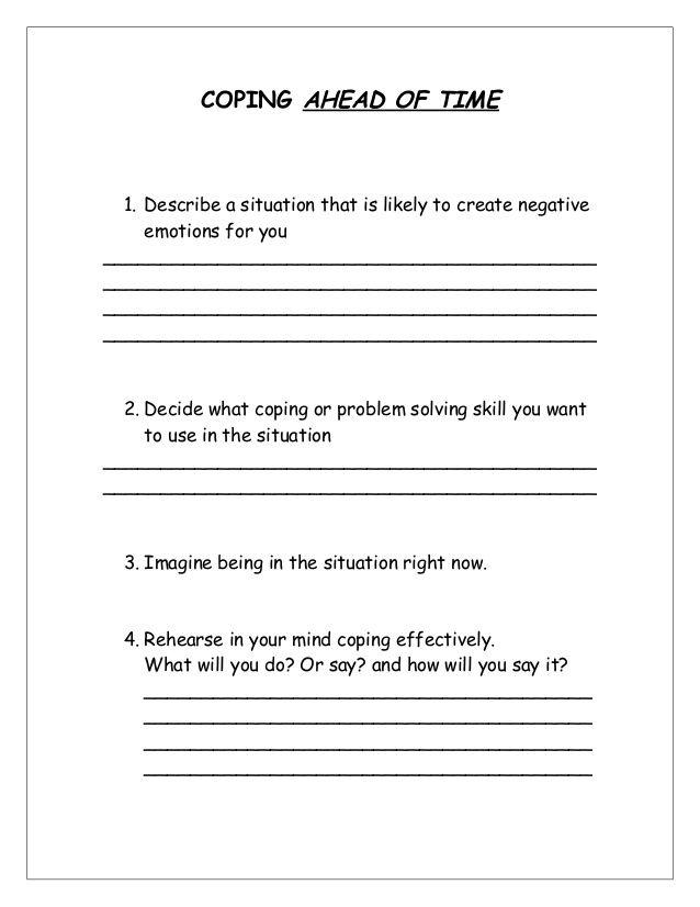 copingaheadoftimeworksheet1638jpg 638 826 – Mental Health Group Worksheets
