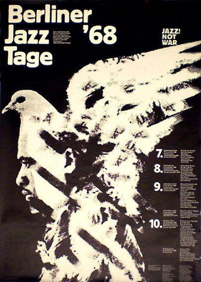Berliner Jazz Tage '68:  Dizzy Gillespie, Herbie Mann, Don Ellis, Art Blakey, Don Cherry, Brian Auger