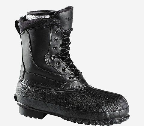 The NMT PAC offers supreme protection from cold, wet conditions with a 100% waterproof vulcanized rubber bottom, a full-grain leather upper, and 400 G. Thinsulate™ Ultra Insulation.
