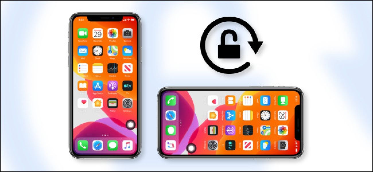 How to lock your iphone or ipads screen orientation in