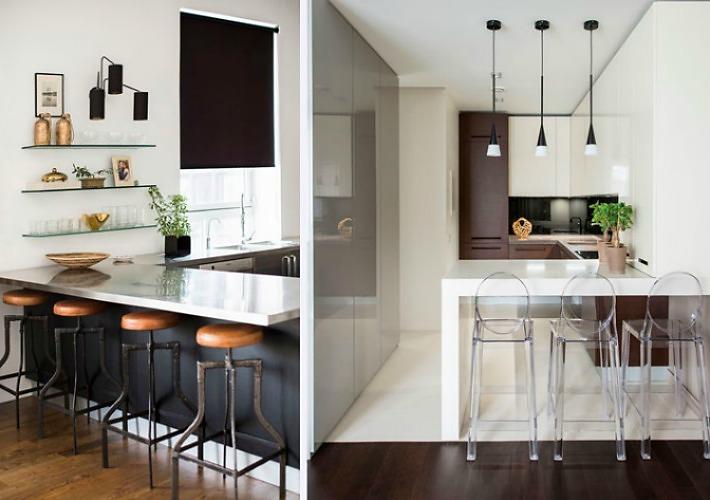 Medidas y consejos para instalar una barra en la cocina consejos casa solar y cocinas - Barra americana para cocina ...