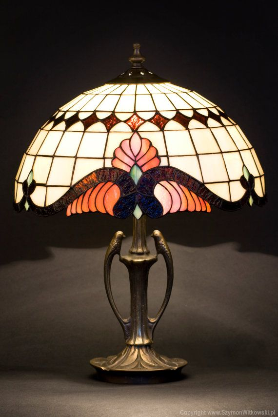 Baroque Classic Tiffany Lamp. Decorative Table Lamp. By WPworkshop