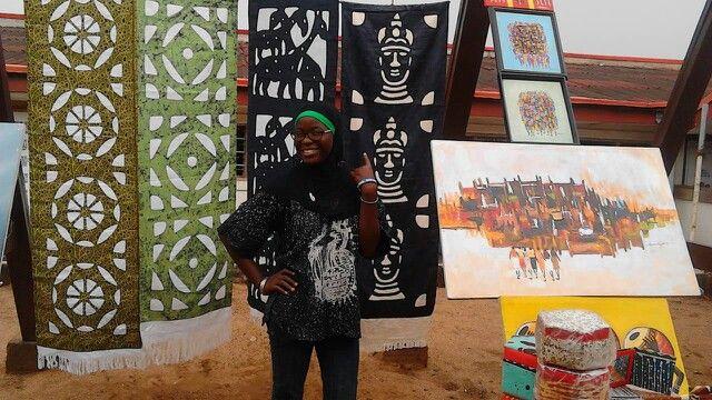 Image result for art market abuja