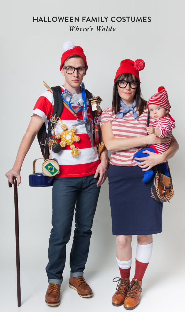 halloween family costumes wheres waldo