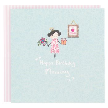 Mummy Queen Birthday Card Paperchase Cute Little Characters