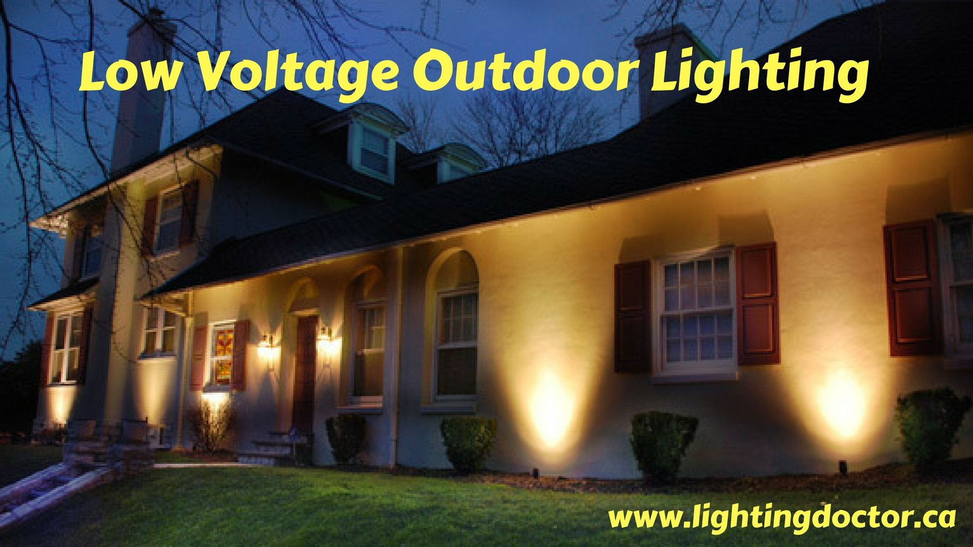 Importance Of Low Voltage Outdoor Lighting Canada You Can Discover Many Types With Doctor In Calgary