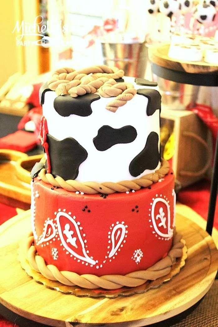 Cowboy Roundup Birthday Party Ideas Decor Planning Cake