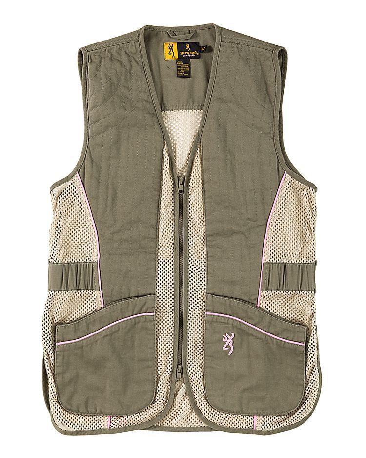 Browning Sporter II Shooting Vest for Ladies Hunting