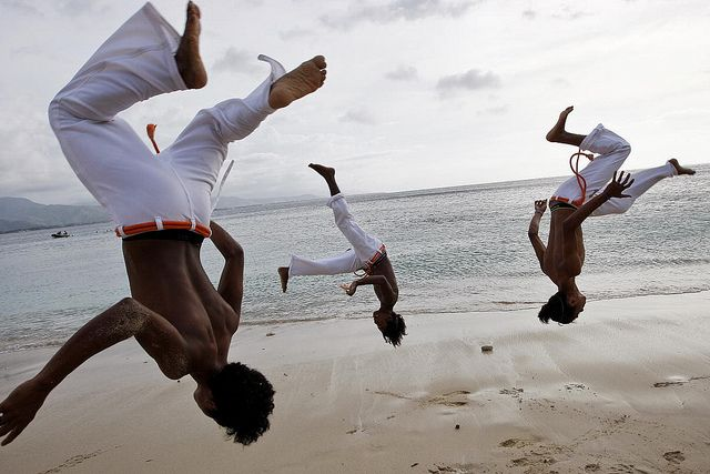 Capoeira Practice on Dili Beach by United Nations Photo, via Flickr