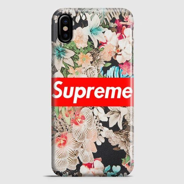 Supreme Floral iPhone X Case | casescraft