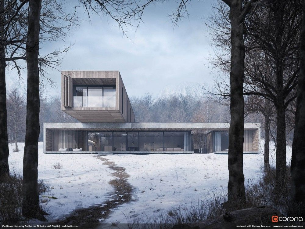 Chaos Czech Releases Corona Renderer 5 For 3ds Max Architecture Rendering Architecture Visualization 3d Architectural Visualization
