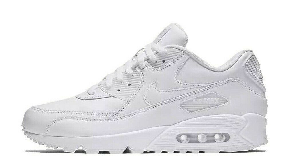 Nike Air Max 90 Leather White Multi Size US Mens Athletic