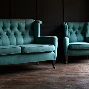 elegant two seat sofa and armchair upholstery inc decorative collective