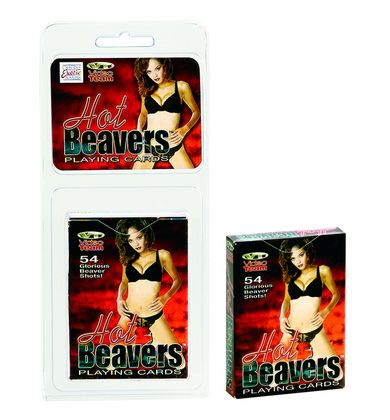 Hot Beavers Playing Cards