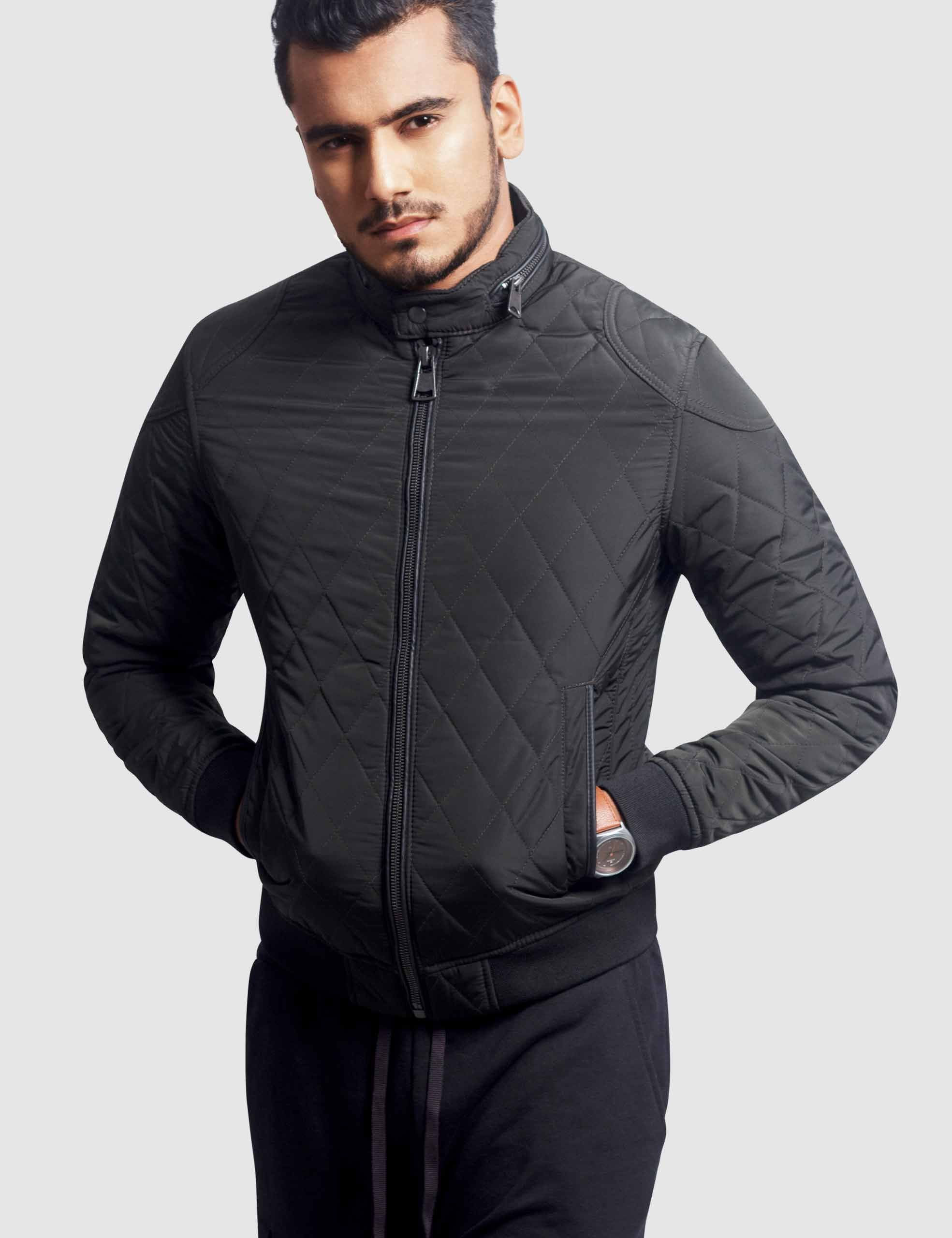 men s quilted bomber jacket in 2020 jackets bomber on men s insulated coveralls cheap id=61740