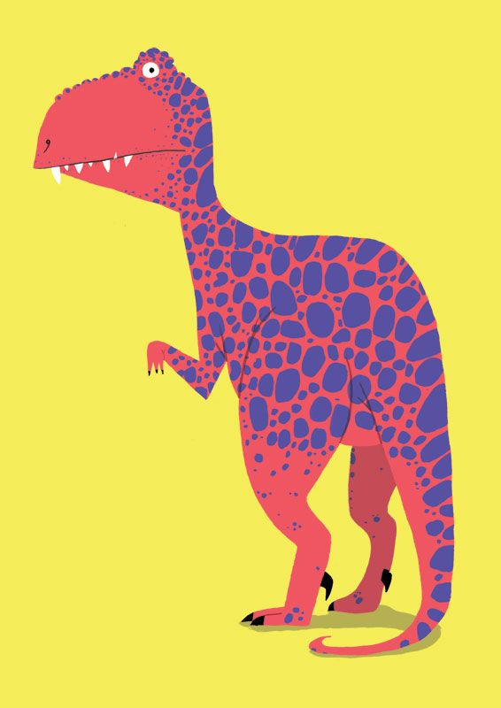 | jim field #dinosaurillustration