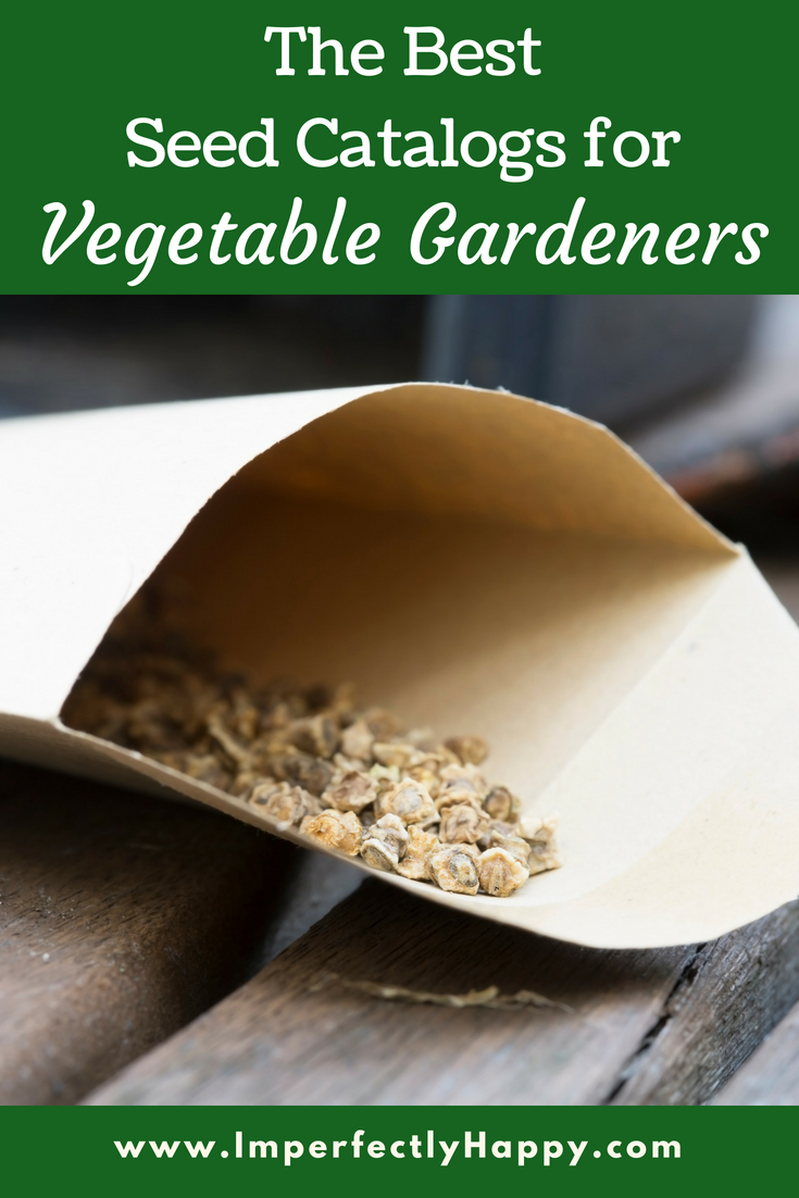 Seed Catalogs You May Not Know | *~ Posts by Imperfectly Happy ...