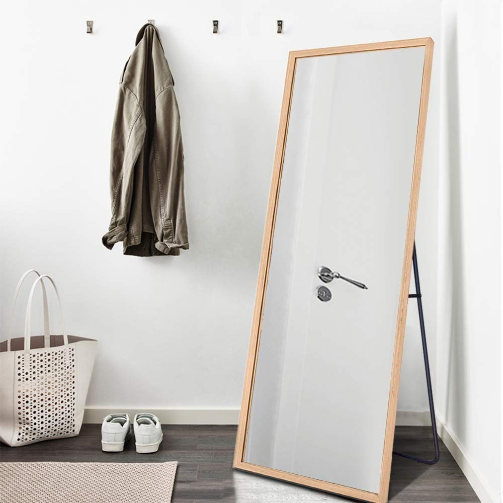 Amazoncom Neutype 65x22 Full Length Mirror Standing Hanging Or
