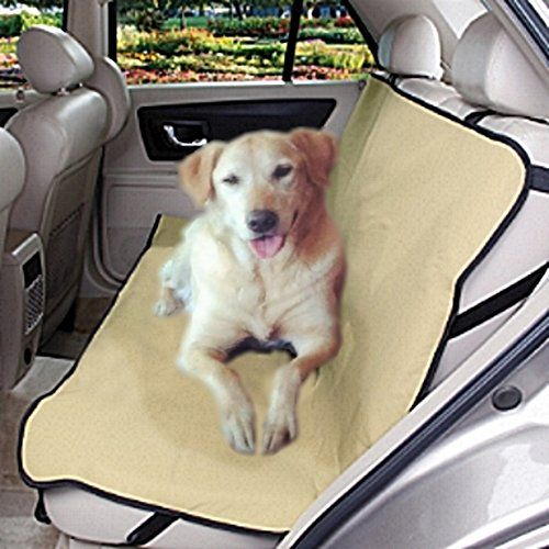 Tan Khaki Fabric SUV Trucks Van Compact Car Seat Cover For Small Medium Large And Extra Dogs Pets Find Out More About The Great Product At