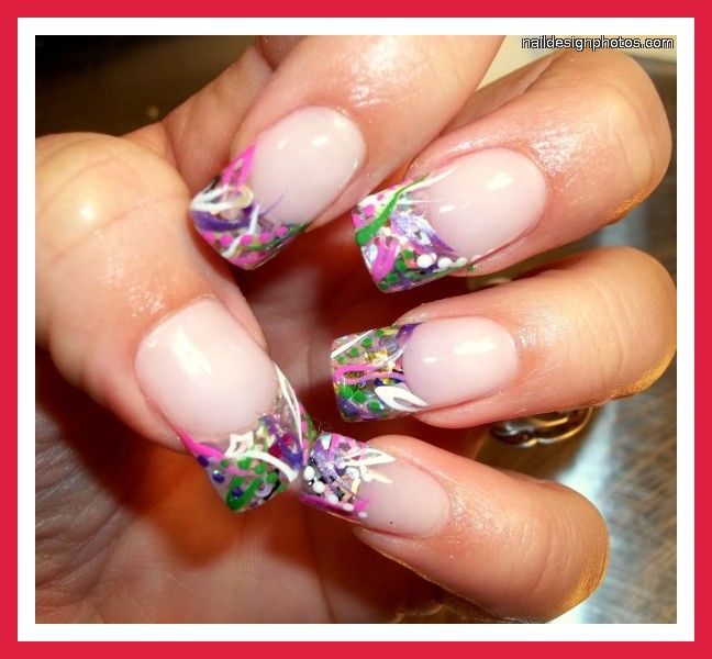 Nail Designs For Medium Length Nails 4 - Nail Designs For Medium Length Nails 4 Nail Art Pinterest
