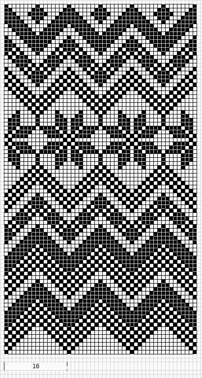 Bolsos Wayuu motivos patrón crochet | HOUNDSTOOTH PATTERN ...