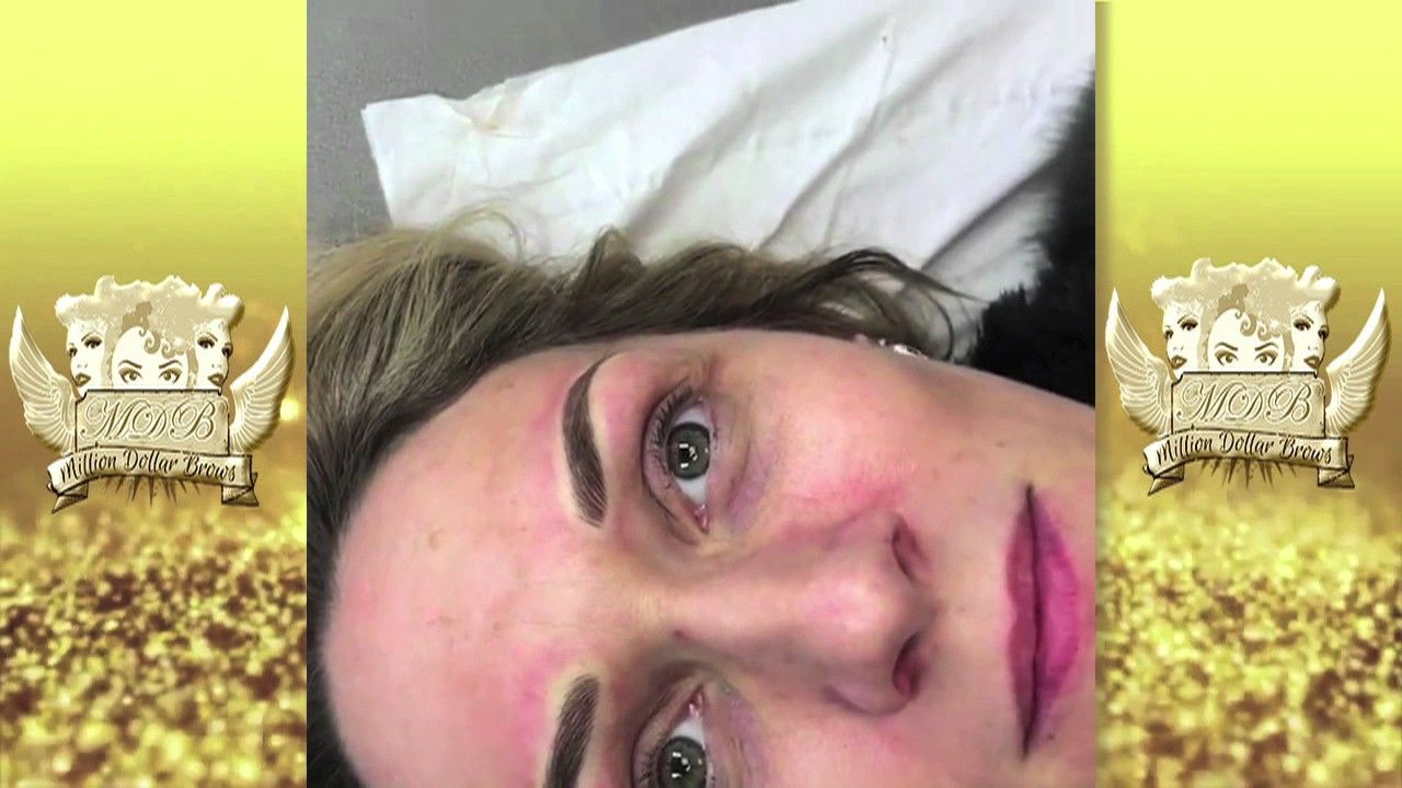 Tattoo Above Eyebrow Meaning: High Definition 3D Hair-stroke Eyebrows Video Showing The