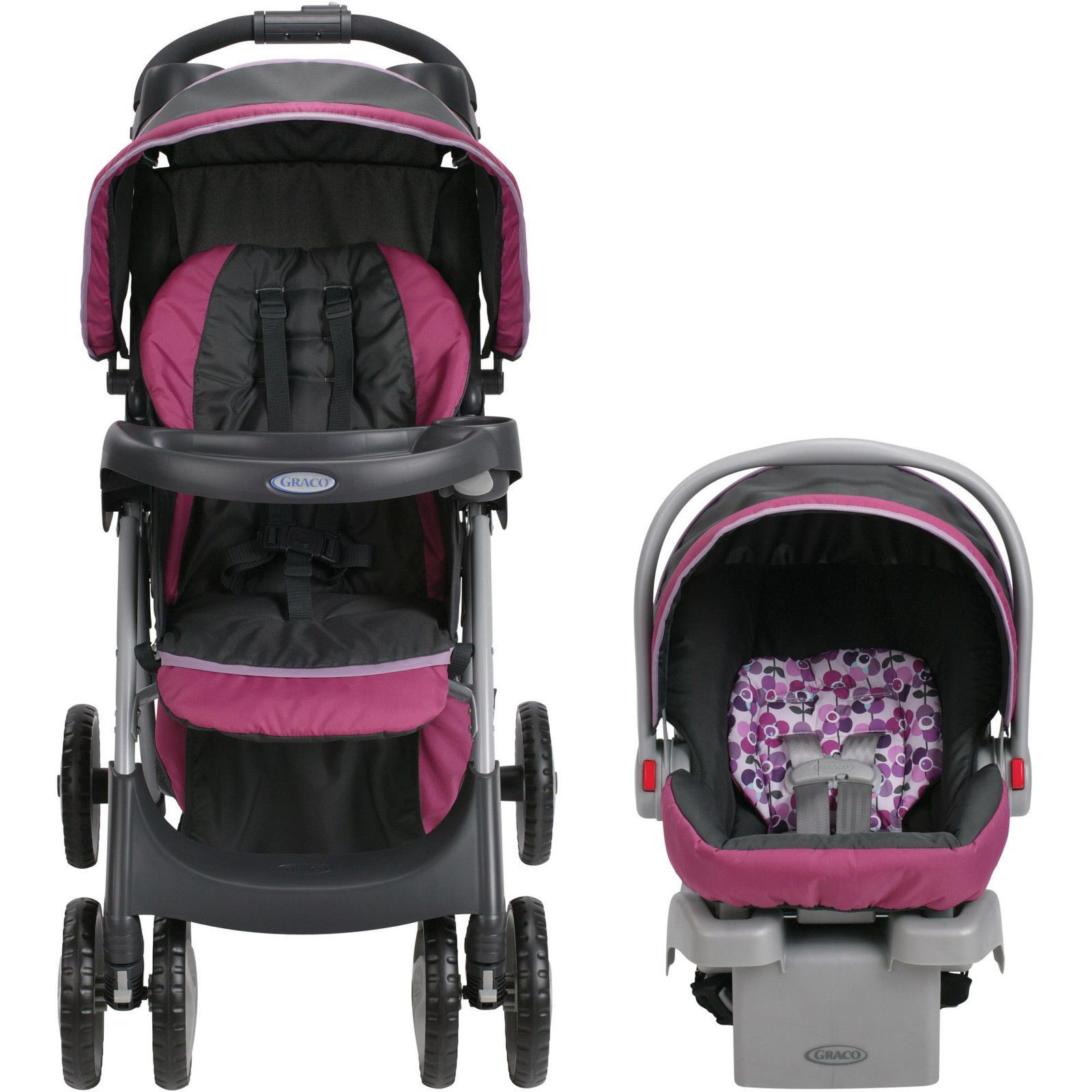 Toddler Baby Travel System Infant Car Seat Lightweight Safety Stroller By Graco
