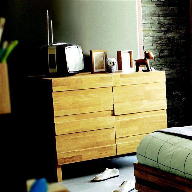 Commode 2 Portes Chene Massif Ariles La Redoute Interieurs Chene Massif Commode Mobilier De Salon