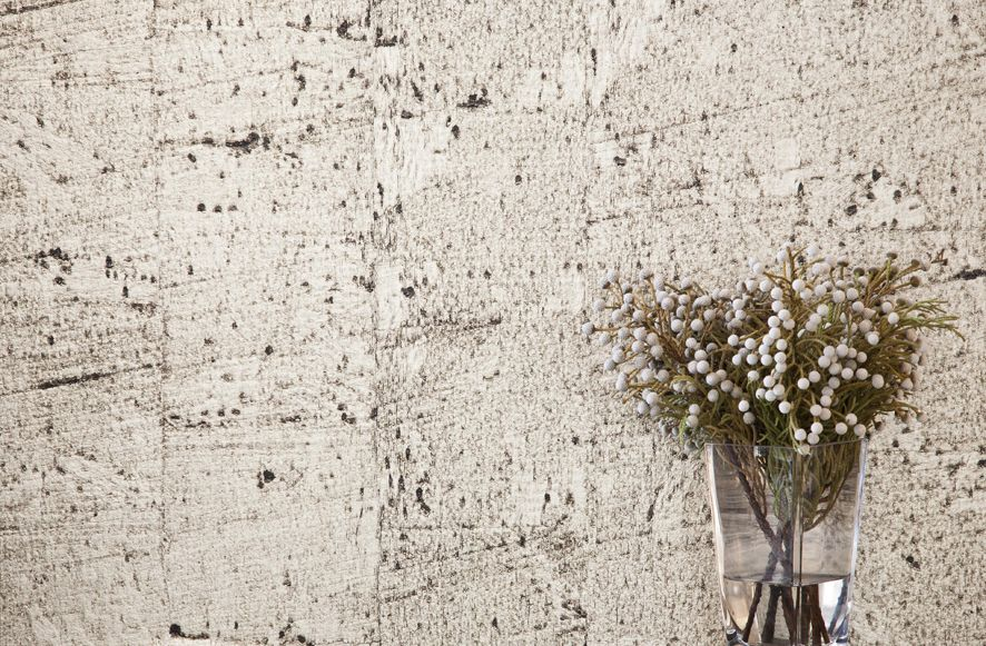 Metalessence Cork wallcovering by Instyle - A high lustre cork textural wallcovering with a metallic sheen