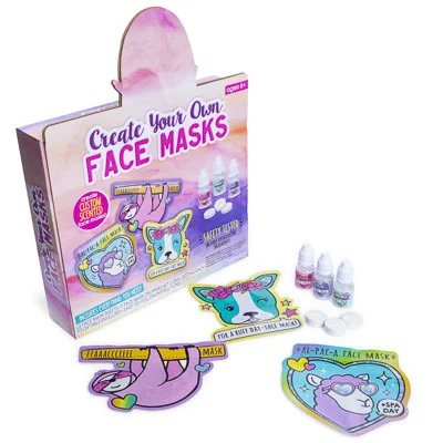 Create your own face masks kit Face mask, Diy beauty