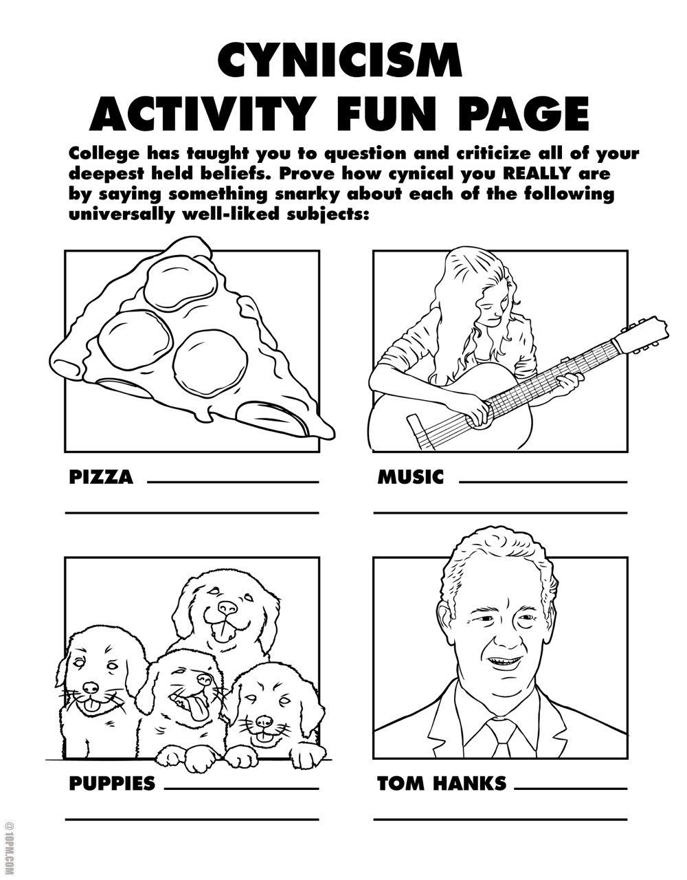 Colouring Book For Grown Ups By Ryan Hunter And Taige Jensen