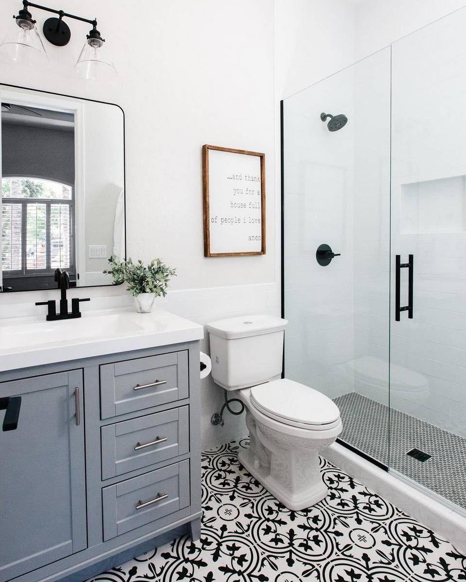 Six Ways To Make Your Small Bathroom Feel Bigger In 2020 Update Small Bathroom Small Bathroom Sleek Bathroom