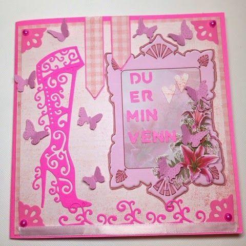 Andersens scrapperier: Pinky pai - kort :)