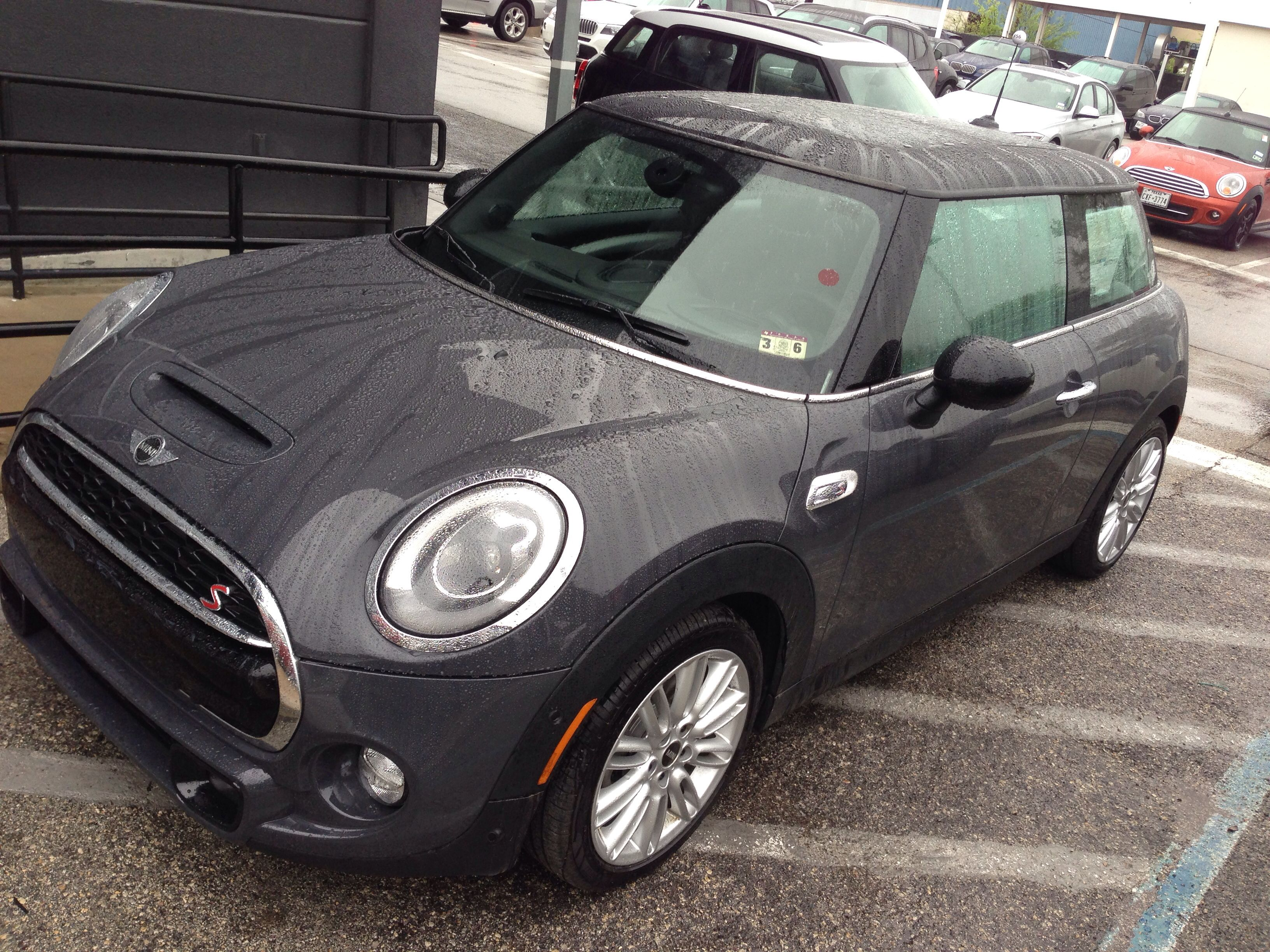 Thunder Grey Metallic Mini Cooper S Ht Just Got In Come See It At