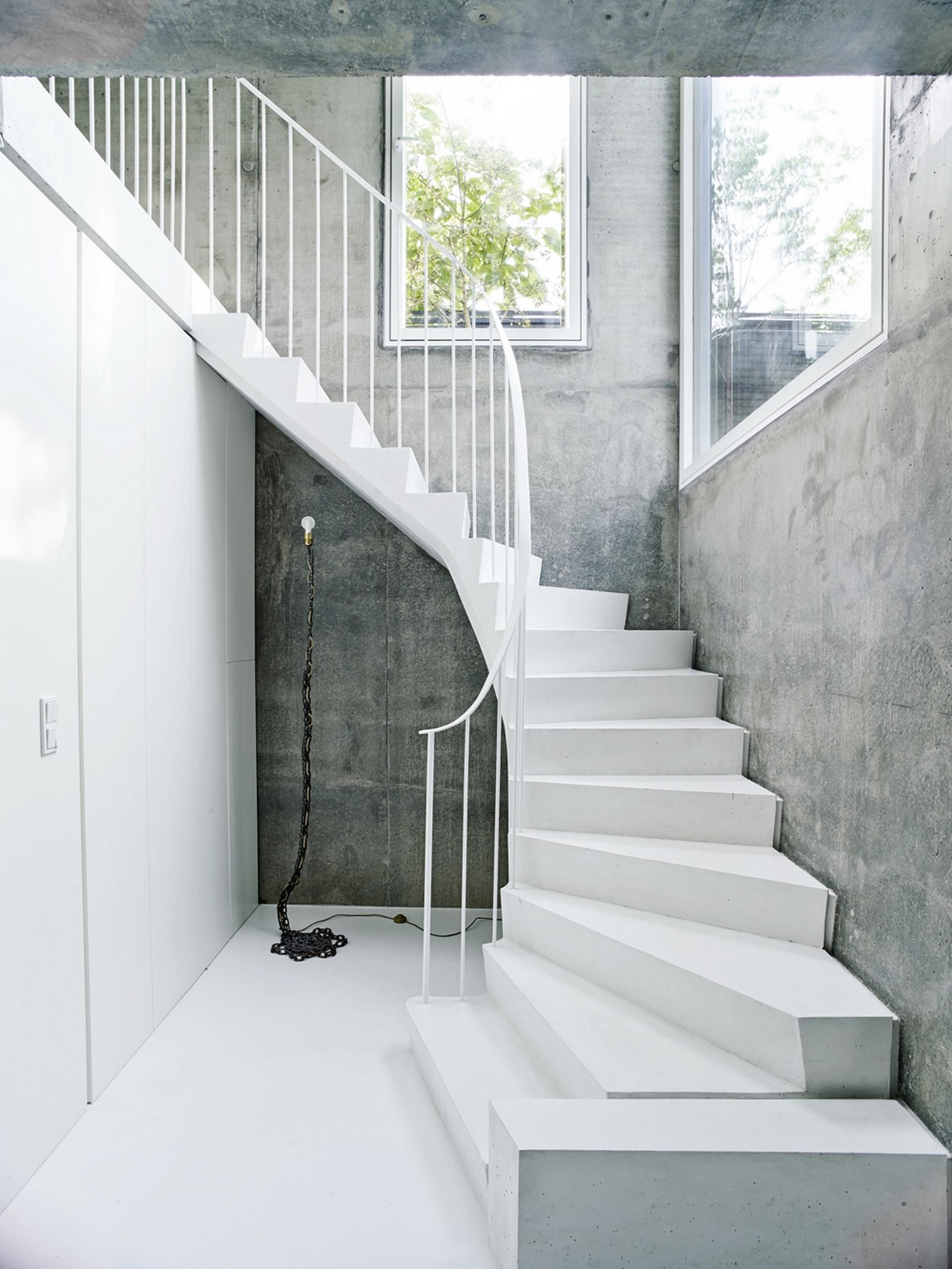 The Covert House Concrete Stairs Flooring For Stairs Stairs