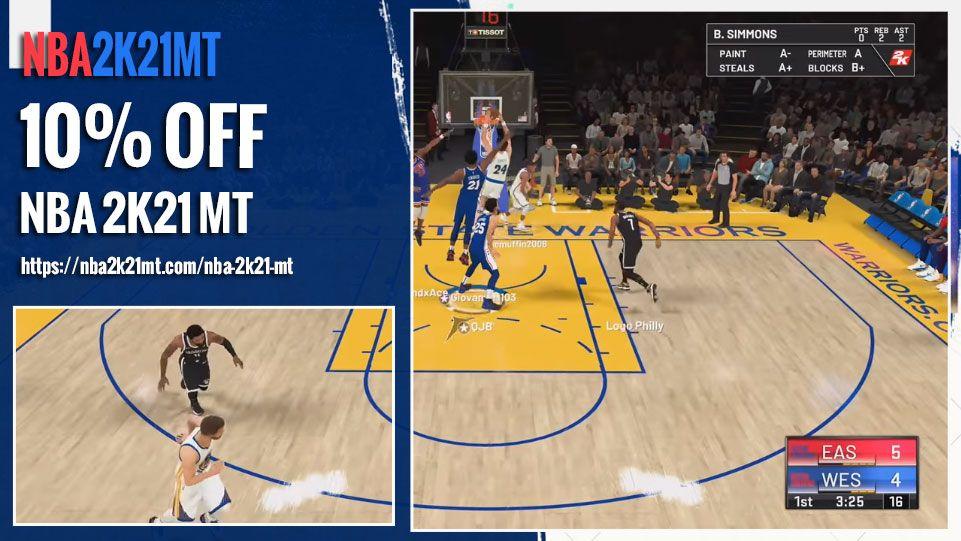NBA 2K21 Myteam MT Selling