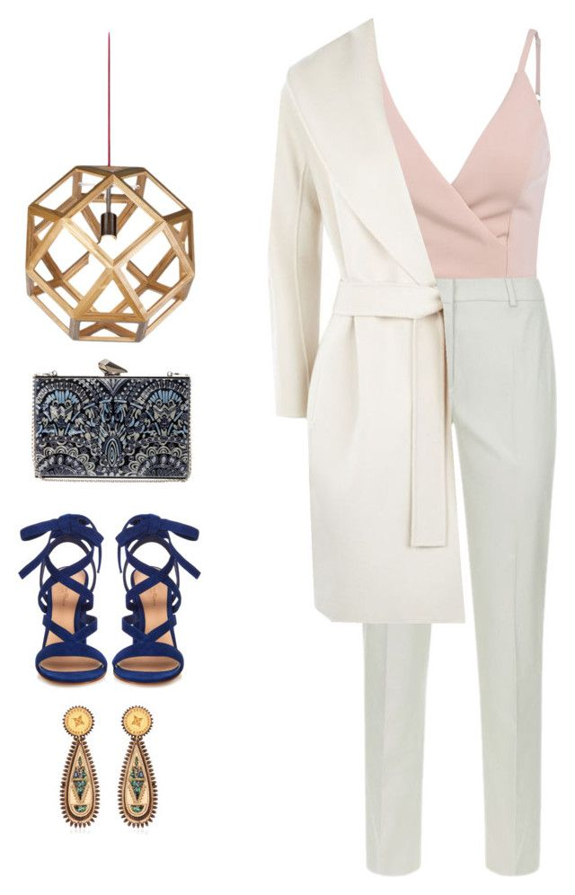 """Working Woman."" by emilykatephilip on Polyvore featuring Weekend Max Mara, MaxMara, Gianvito Rossi, KOTUR and Anisha Parmar London"