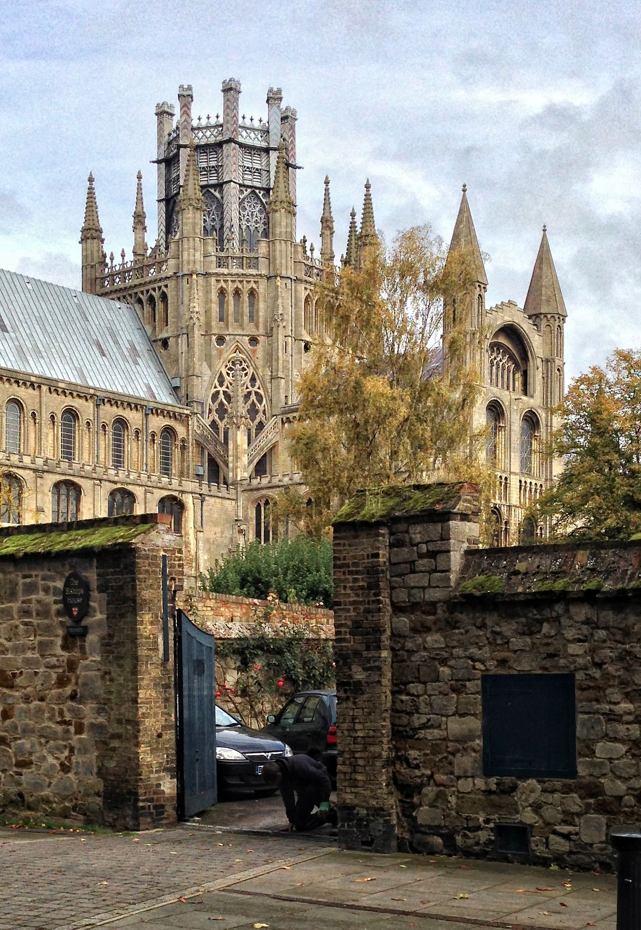 Cambridgeshire - Ely Cathedral in the autumn